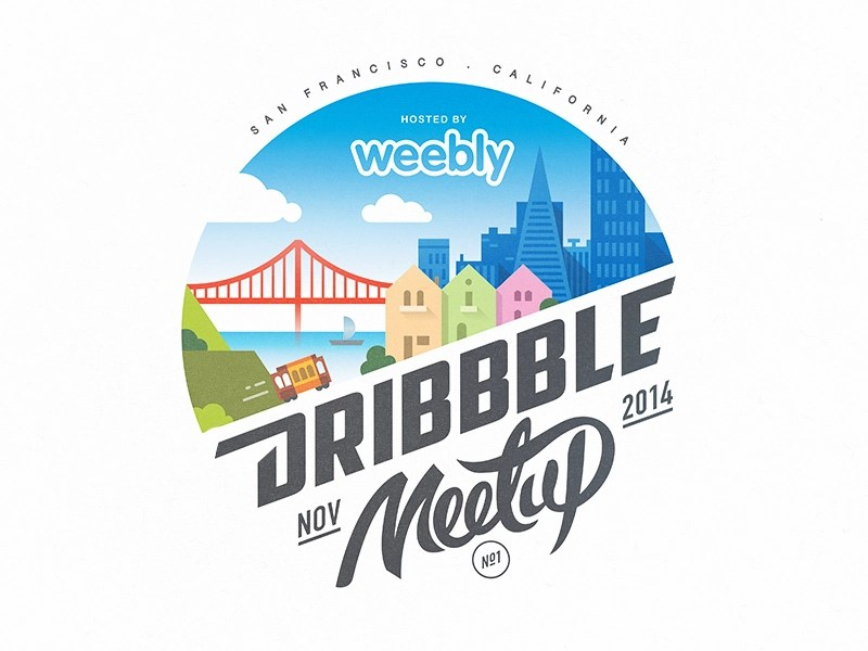 weeblydribbble - Inspiration logo – 16 Aout 2016