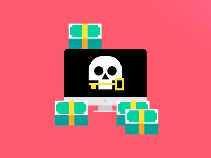 Data Force ransomware virus money vector illustration