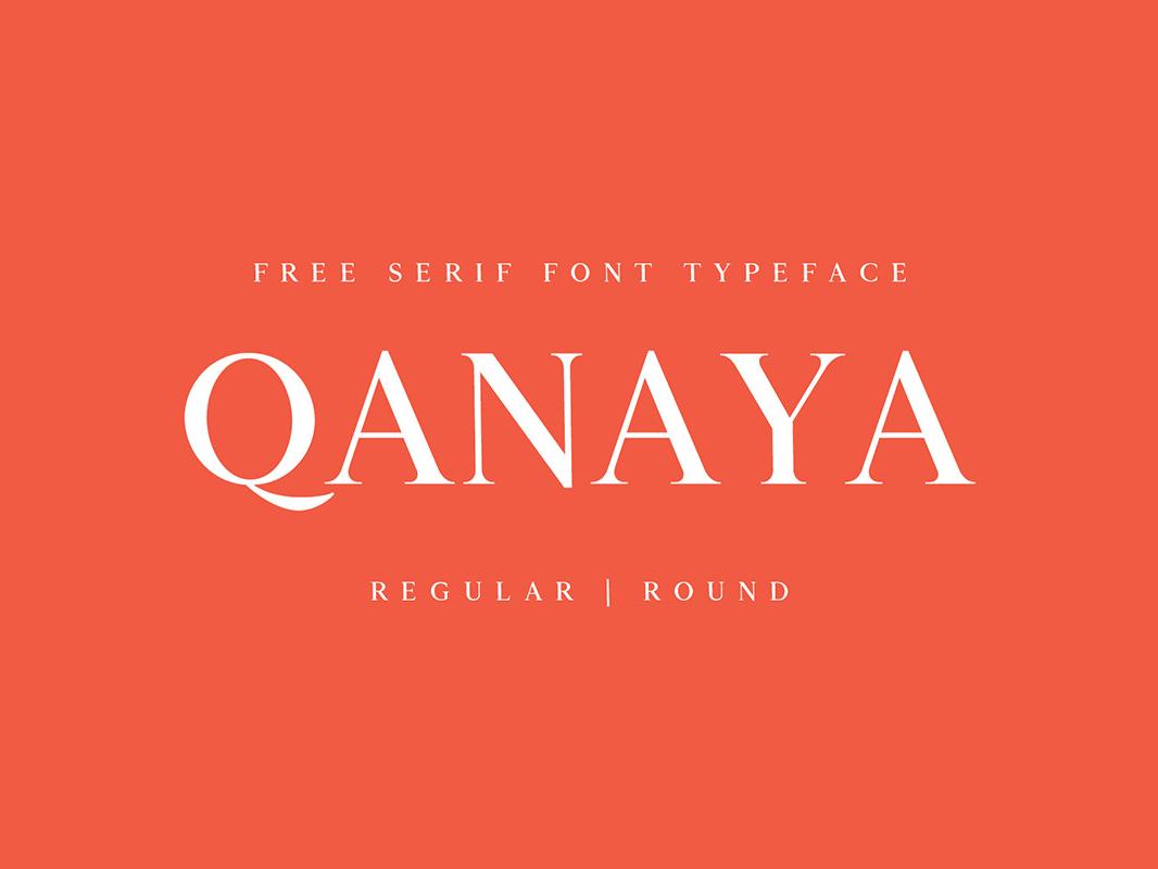 Download Free Qanaya Serif Font Family Pack by Farhan Ahmad on Dribbble