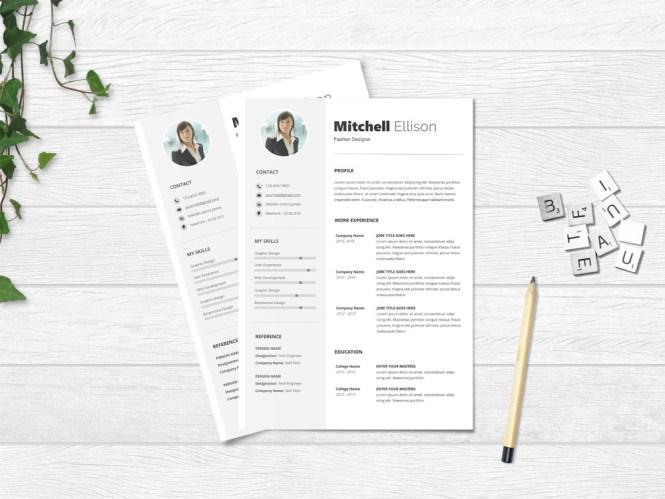 Basic Microsoft Word Resume Template
