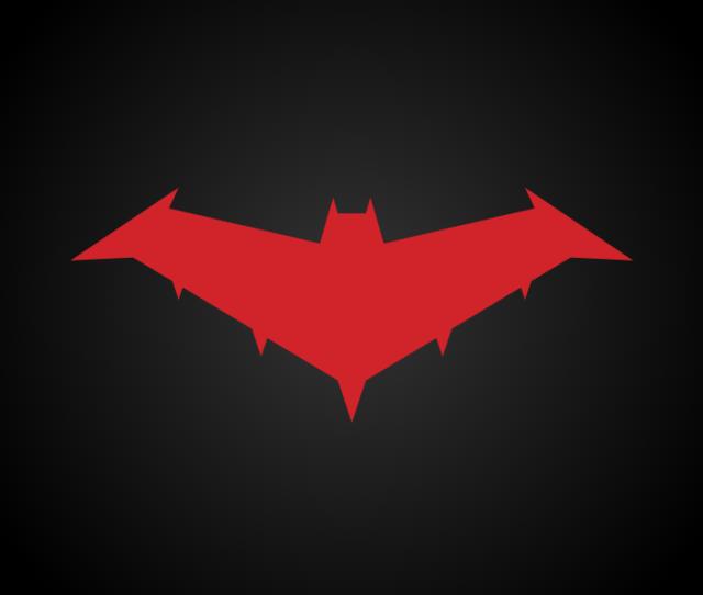 Red Hood Logo Nightwing The Series By Chris Shepherd On Dribbble