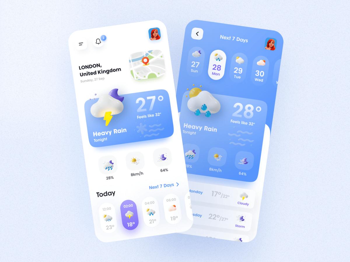 3D UI Design