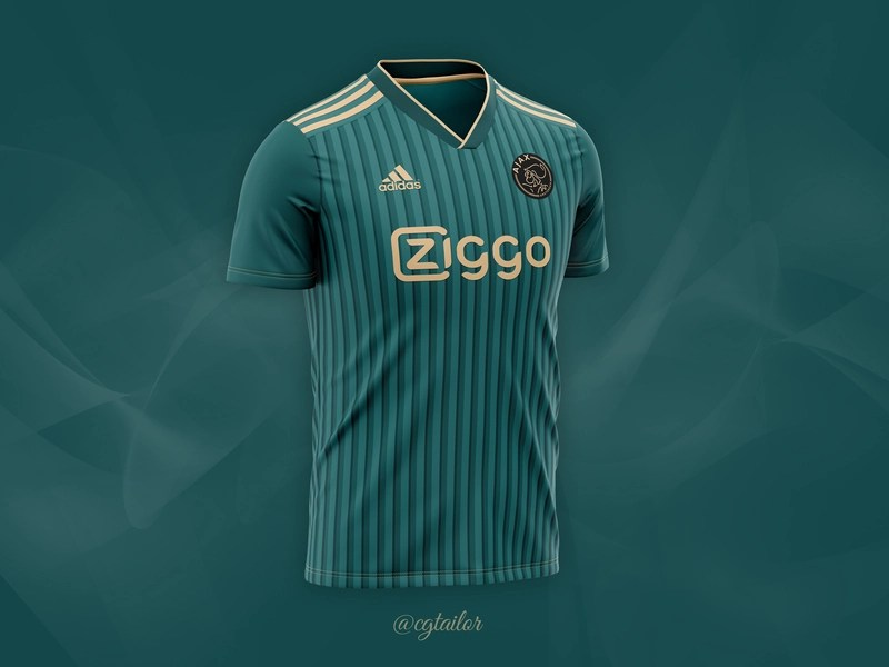 Download Football / Soccer Concept for FC AJAX by CG Tailor on Dribbble