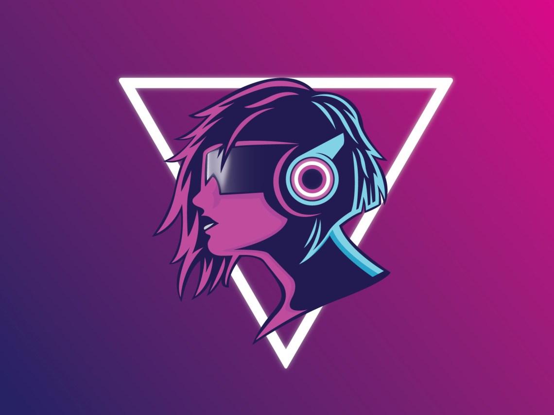 desain Cyberpunk