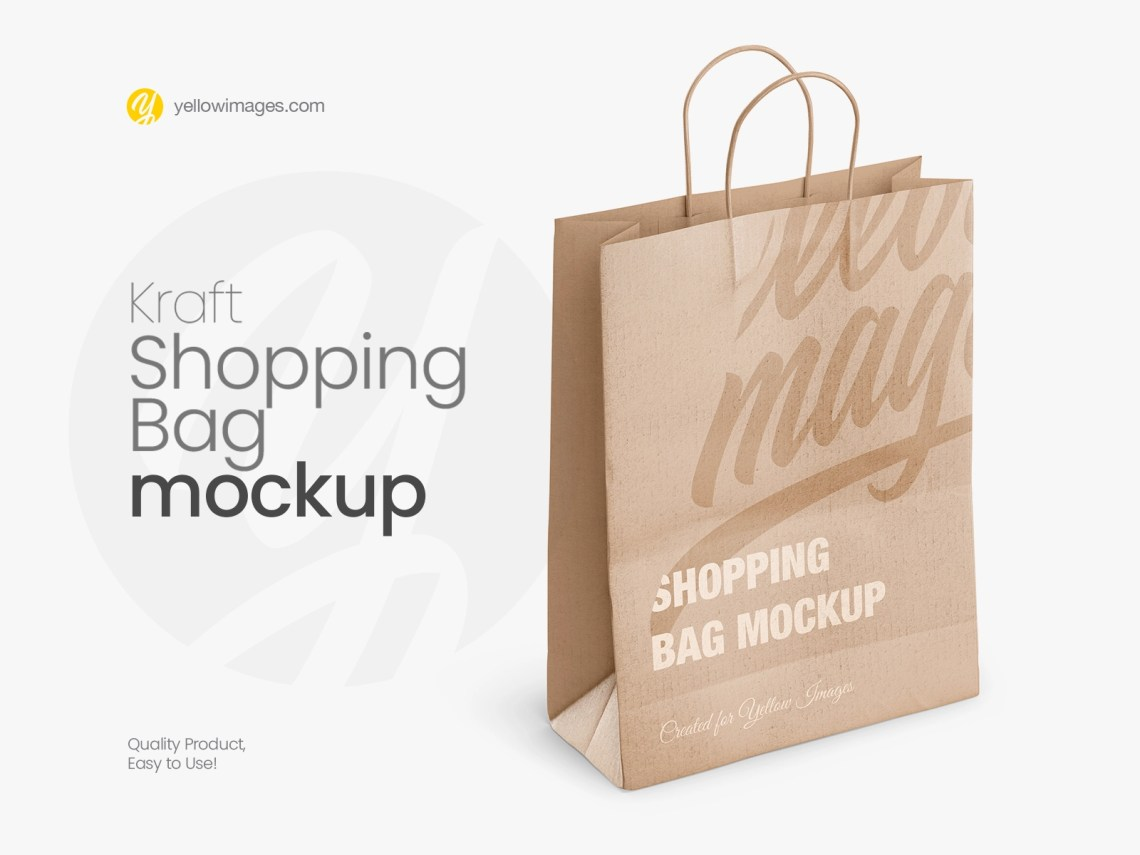 Download Mockup Paper Bag Yellowimages