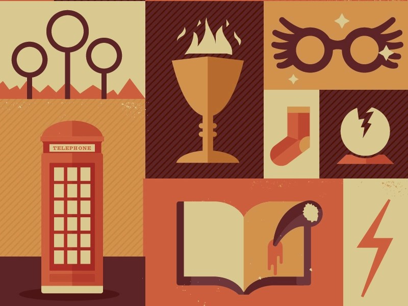 Harry Potter Items By Risa Rodil On Dribbble