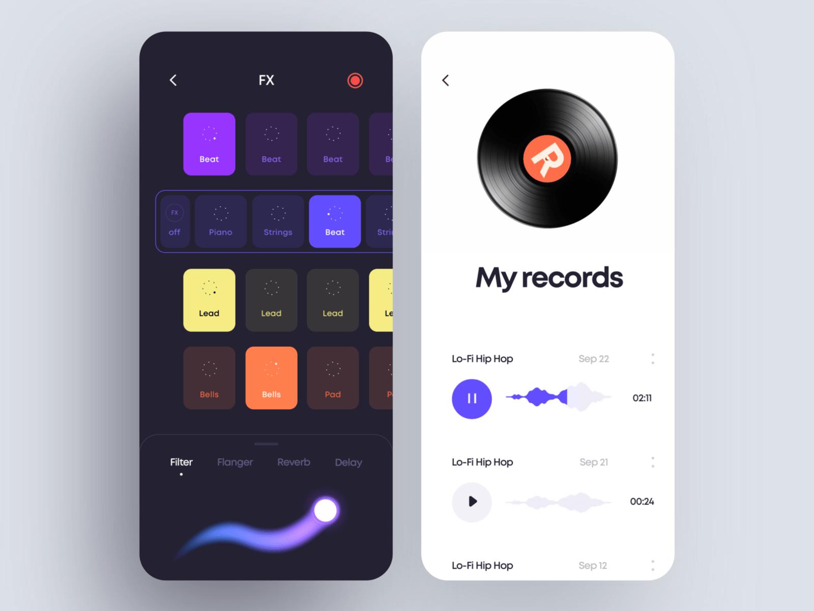 Beat Maker App Design By Cuberto On Dribbble