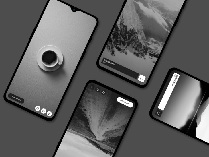 Mono for KWGT by Dosarts MobileArts on Dribbble