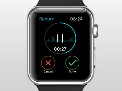 Αποτέλεσμα εικόνας για apple watch voice recorder