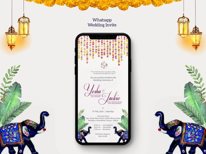 Whats Wedding Invite By Maurvi On