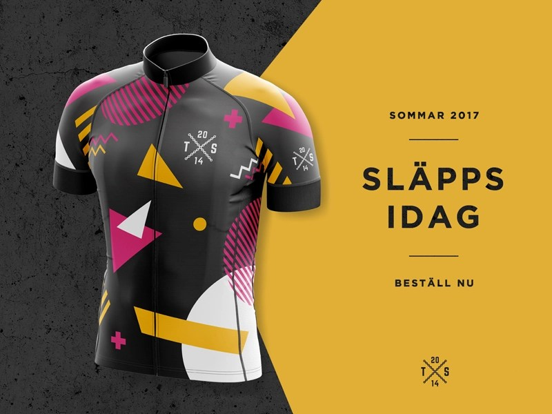 Download Cycling jersey 2017 by Daniel Öberg on Dribbble