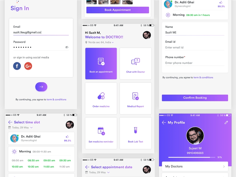 UI Inspiration: This week's selections from Slava Kornilov, Valeria Rimkevich and more