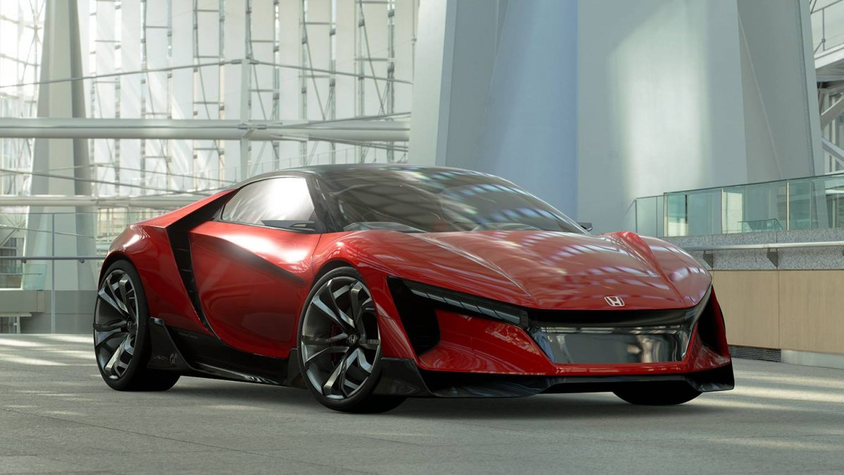 Honda Sports Vision Gran Turismo Is The Baby NSX Youve