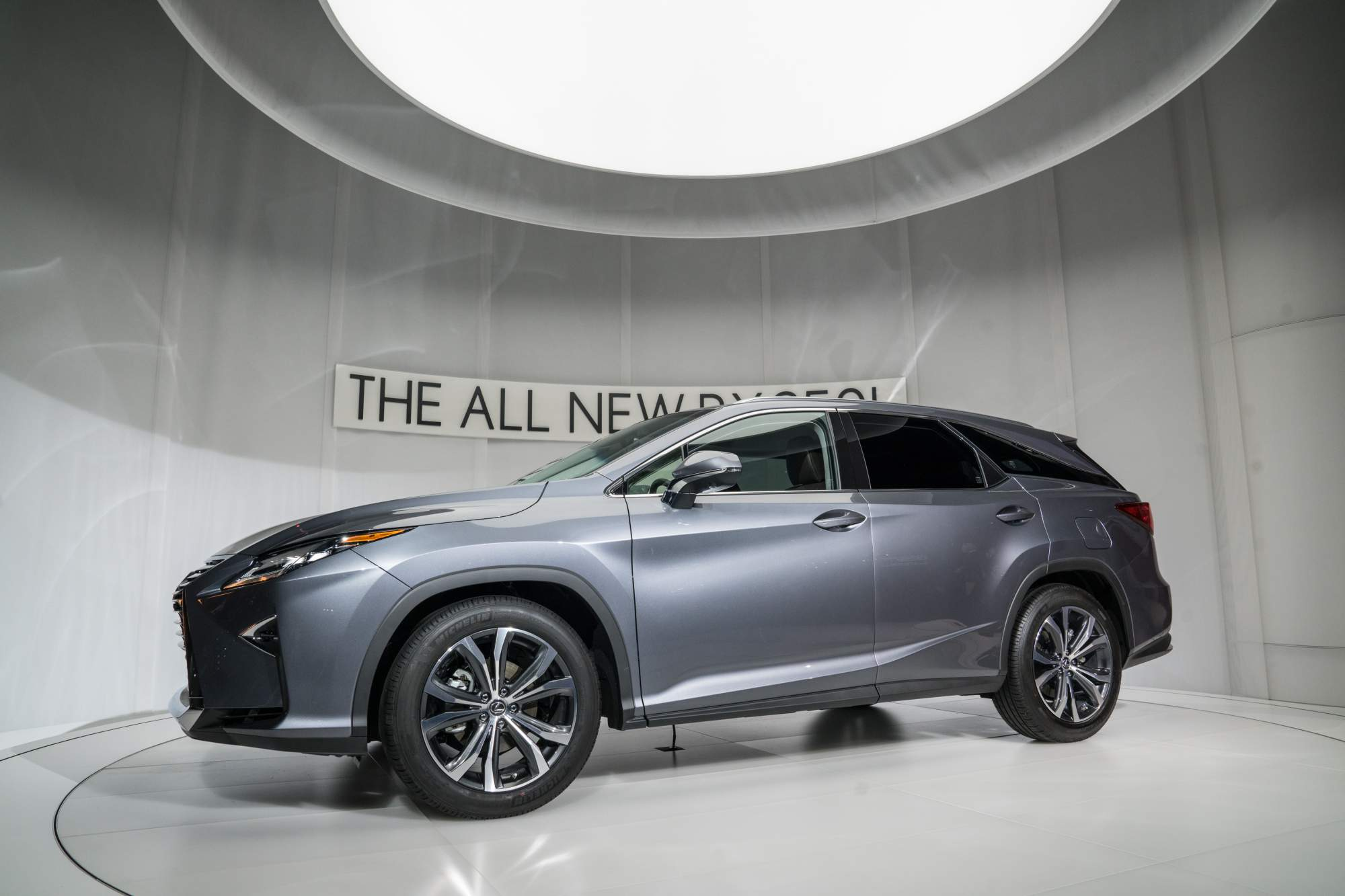 2018 Lexus RX L is a three row SUV that offers up to seven seats