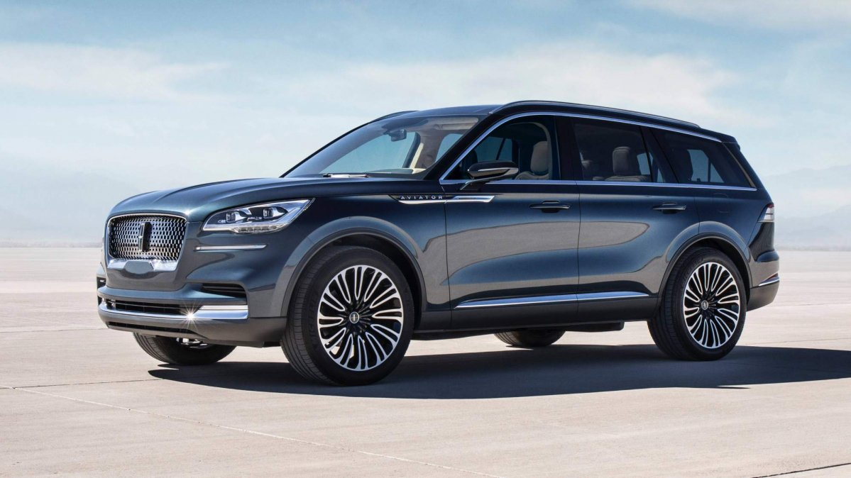 Lincoln Aviator Concept Previews Production Model Arriving
