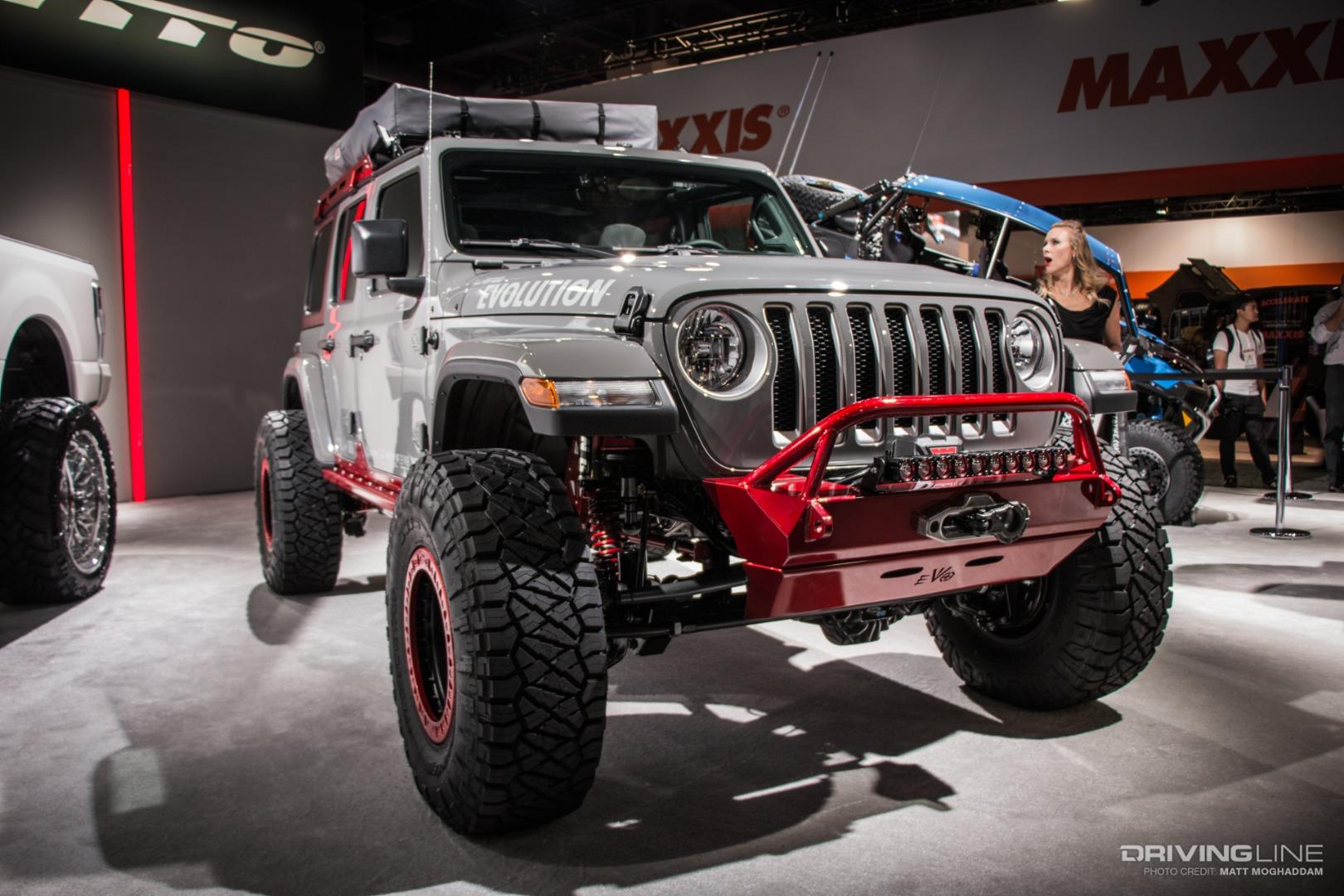 Jl Mania The Many Jeeps Of Sema 2018 Gallery Drivingline