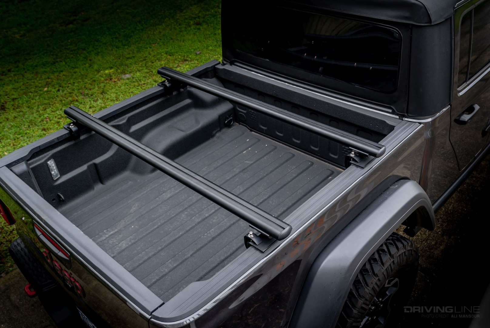 jeep gladiator low profile bed rack
