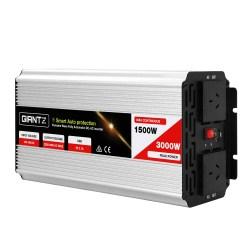 Giantz 1500W Puresine Wave DC-AC Power Inverter