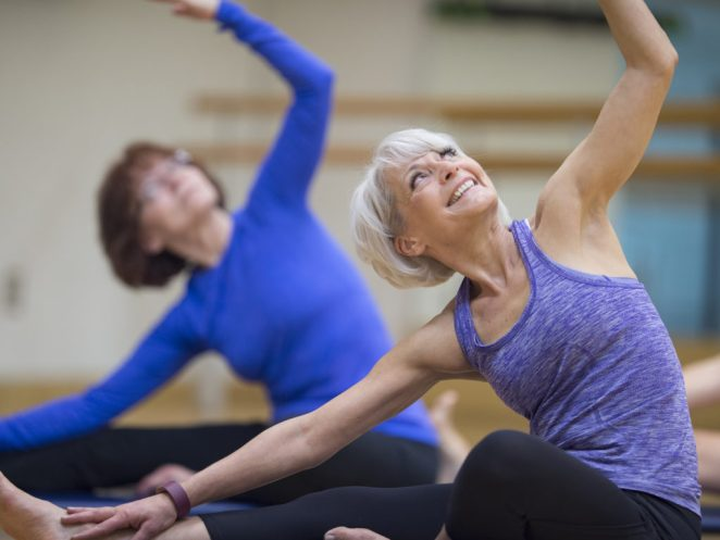 Image result for graceful ageing yoga