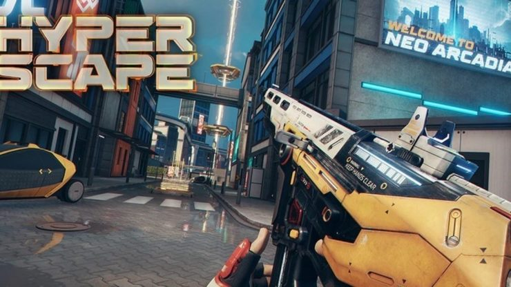 Hyper Scape: All weapons and what they can do - EarlyGame