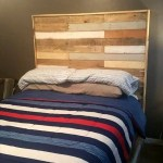 Beautiful Pallet Bed With Headboard Nightstand Easy Pallet Ideas