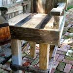 Diy Pallet Outdoor Bar Table Set Easy Pallet Ideas