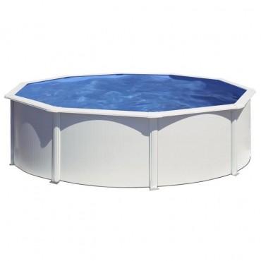 kit piscine hors sol ronde gre serie fidji
