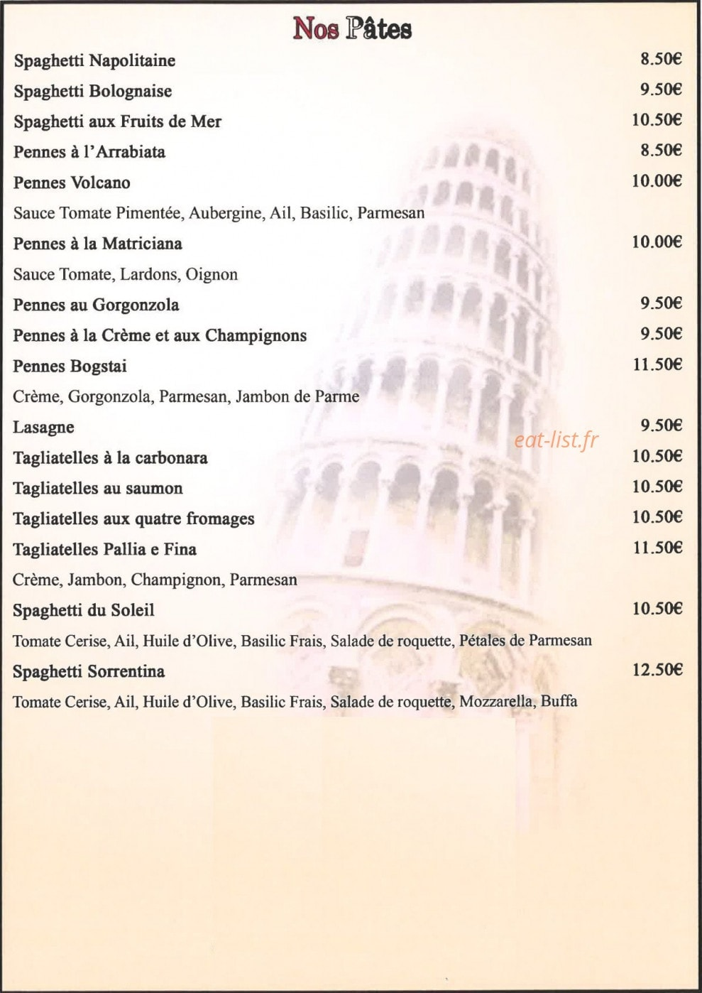 jardin d italie a villejuif menu en ligne