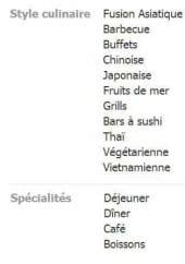 espace wok a perpignan carte menu et