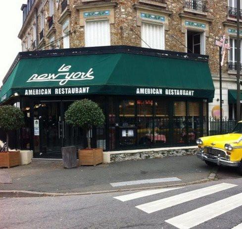 le new york a le chesnay carte menu et