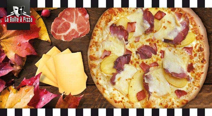 la boite a pizza a angers carte menu