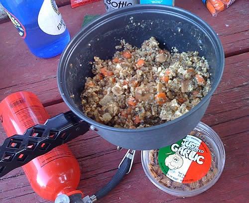 Lentils, Tofu, and Whole Wheat Couscous