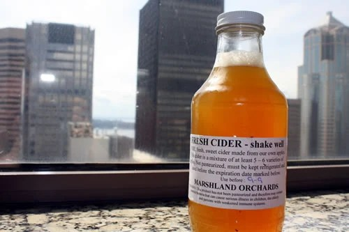 Unprocessed Cider