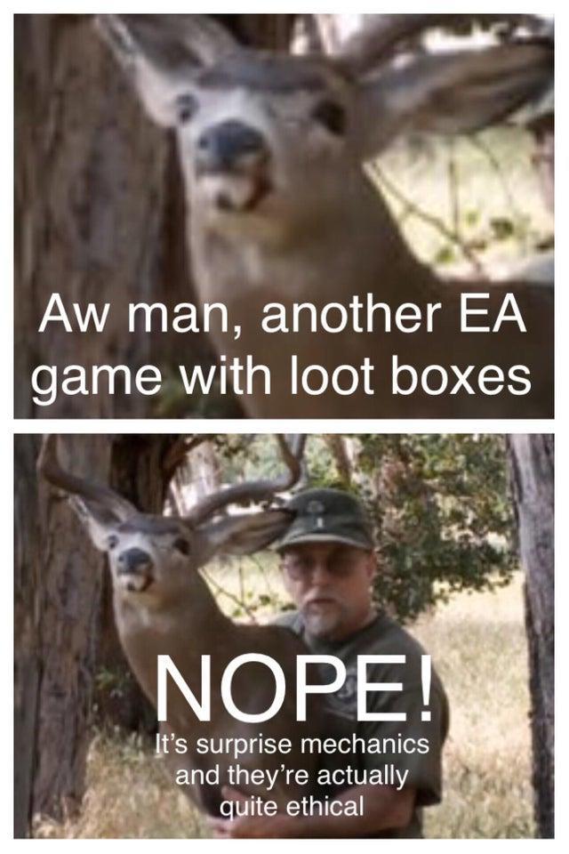 22 Loot Boxes Are Surprise Mechanics Memes That Roast Ea On