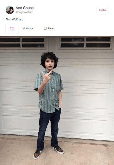16 Finn Wolfhard Middle Finger Memes That Are Strange Things Wow