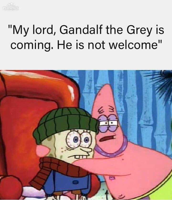 Nao Duvido Mais Do Que Ja Suponho Gandalf