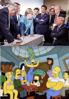 conservative meme merkel trump