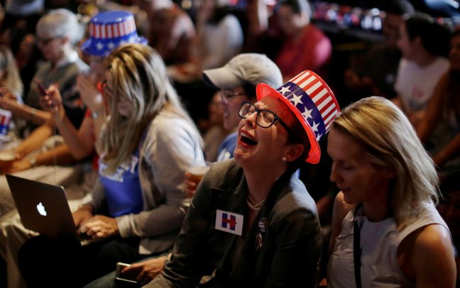 Image result for hillary fan crying