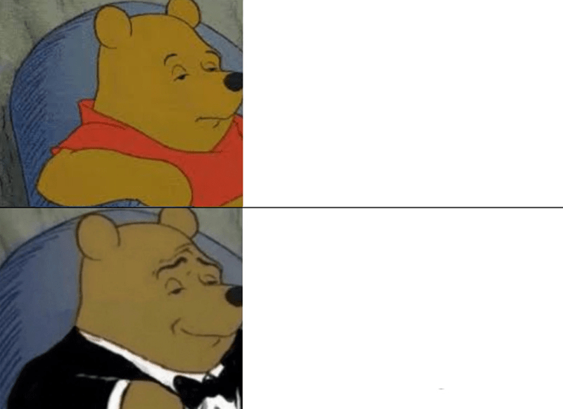 Tuxedo Winnie The Pooh Clean Meme Template Ftw Picture