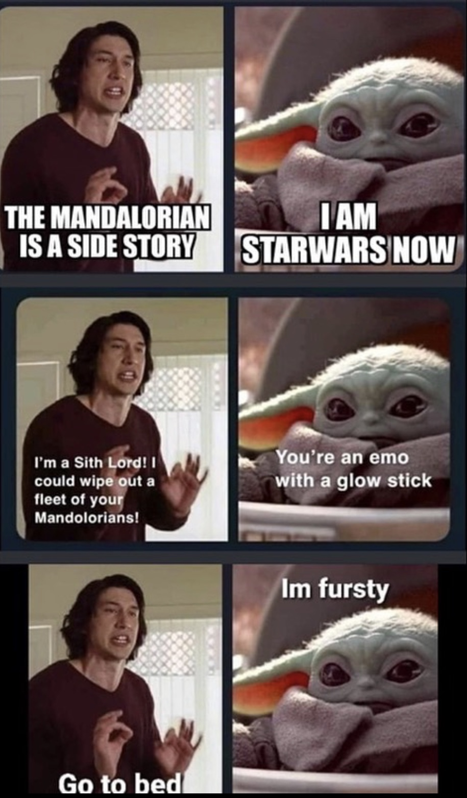 Twenty Four Spicy Star Wars Memes For The Force Sensitive Funny