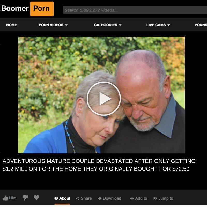Top Ten Boomer Porn Memes Of August That Will Bring Back The Good