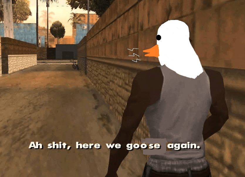 Untitled Goose Game Memes With Images Gaming Memes