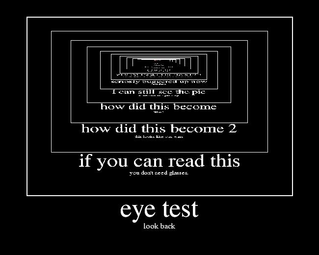 fun eye test eyetest