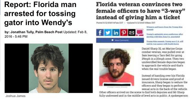 23 Florida Man Memes And Headlines That Are Absolutely Insane
