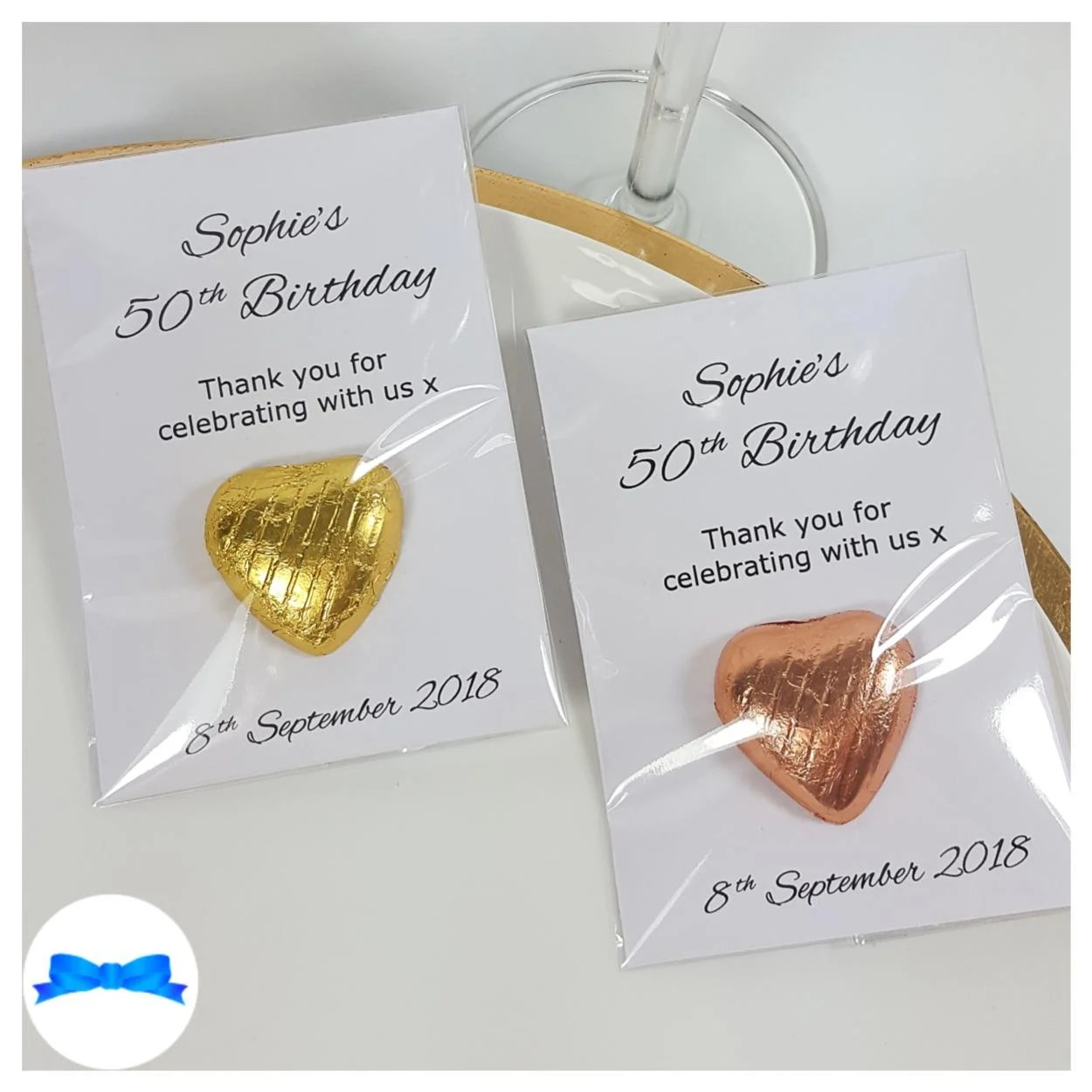 Birthday Party Favours