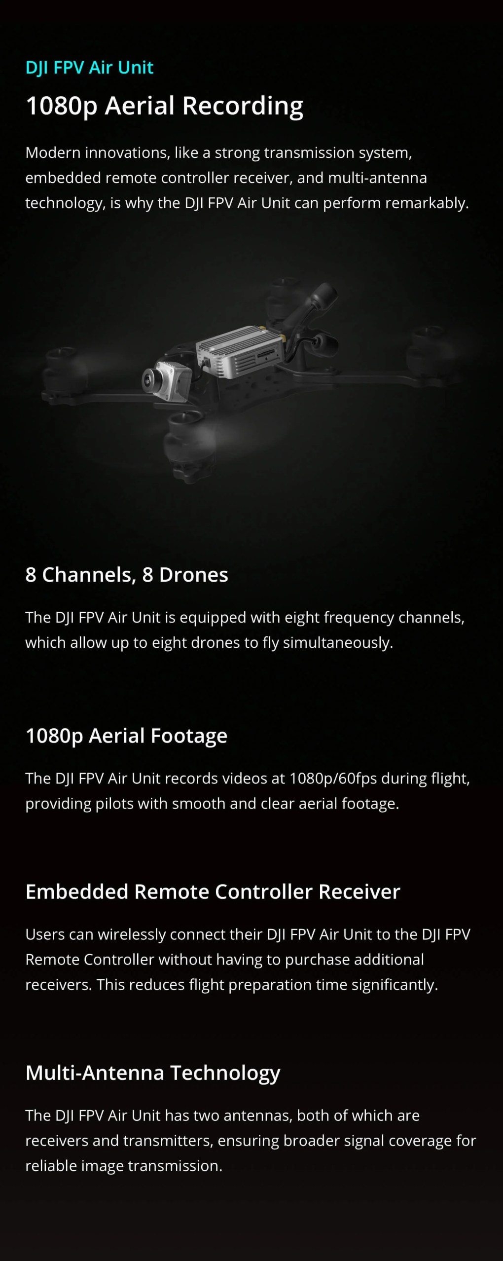 DJI Air unit dual antennas