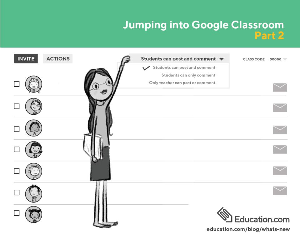 Google Classroom 2 feature