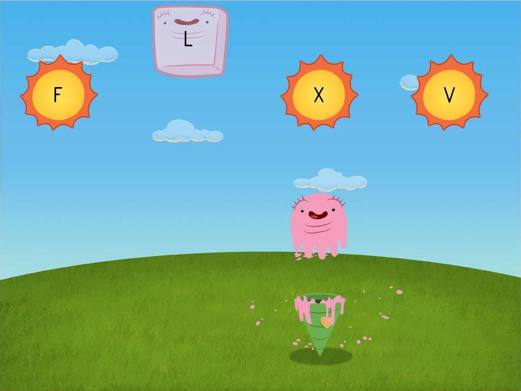 Alphabet Ice Cream Game
