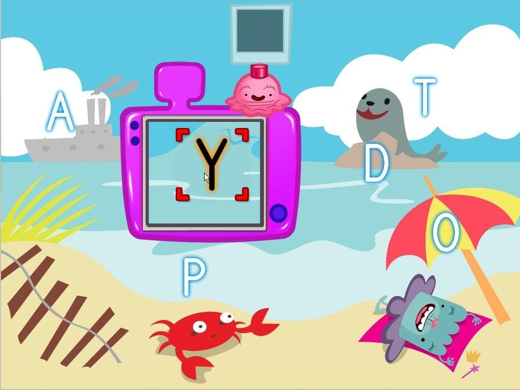 Alphabet Beach Photoshoot Game