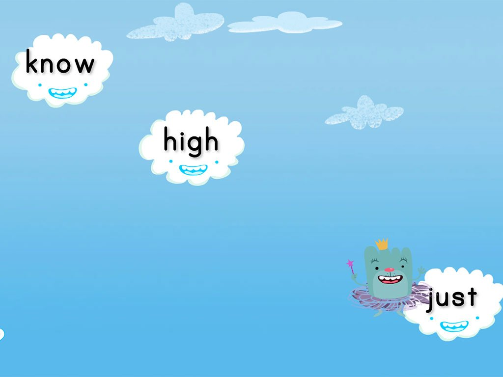 Cloud Catcher 1st Grade Sight Words